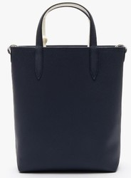 SAC CABAS ANNA RÉVERSIBLE BICOLORE DARK SAPPHIRE MARSHMALLOW NF2991AA C93 www.solene-maroquinerie.fr