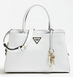 SAC A MAIN GUESS MADDY EFFET GRAINÉ BLANC HWVG7291060 WHITE www.solene-maroquinerie.fr