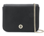 SAC A BANDOULIERE TOMMY HILFIGER NOIR AW0AW06630 002 www.solene-maroquinerie.fr
