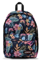 EK767 96Z TROPICAL FLOWER SAC A DOS EASTPAK OUT OF OFFICE 27LITRES www.solene-maroquinerie.fr