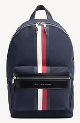 SAC A DOS ELEVATED TOMMY NAVY BACKPACK TOMMY HILFIGER AM0AM04421 413 www.solene-maroquinerie.fr