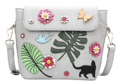 SAC A BANDOULIERE FRIDA'S GARDEN VENDULA LONDON FRIDA'S GARDEN CROSSBODY BAG B73271461 www.solene-ma