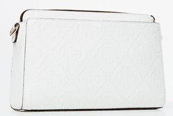 SAC BANDOULIERE GUESS MADDY GIRLFRIEND CROSSBODY BLANC WHITE HWVD7291140 www.solene-maroquinerie.fr