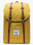 SAC A DOS HERSCHEL RETREAT ARROWWOOD CROSSHATCH JAUNE CHINÉ 10066 03003 www.solene-maroquinerie.fr