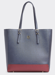 SAC PROFESSIONNEL A PLAQUE TOMMY HILFIGER HONEY WORKBAG TOMMY NAVY MIX AW0AW07299 BDS www.solene-mar