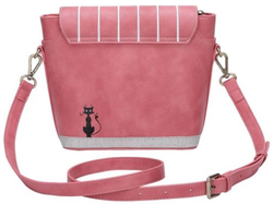 SAC A BANDOULIERE VENDULA LONDON CAT CAFE CROSSBODY BAG K91201711 www.solene-maroquinerie.fr