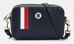 PETIT SAC REPORTER À MONOGRAMME TOMMY HILFIGER AW0AW10042 DW5 www.solene-maroquinerie.fr