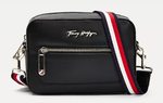 PETIT SAC REPORTER ICONIC NOIR SIGNATURE TOMMY HILFIGER ICONIC TOMMY AW0AW09659 BDS www.solene-maroq