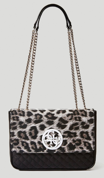 A Ryan Lux Leopard Bandouliere Solene Guess Maroquinerie Sac XZwOTkPui