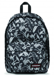 EK767 96W FLOWER BLACK SAC A DOS EASTPAK OUT OF OFFICE www.solene-maroquinerie.fr