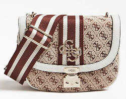 SAC BANDOULIERE GUESS VINTAGE WHITE HWSG7304210 www.solene-maroquinerie.fr