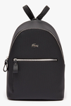 SAC A DOS  LACOSTE DAILY CLASSIC EN TOILE ENDUITE PIQUEE UNIE NF2773DC000 www.solene-maroquinerie.fr