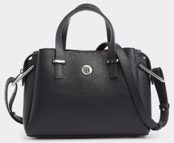 SAC A MAIN TOMMY HILFIGER TH CORE MEDIUM NOIR AW0AW07304 BDS www.solene-maroquinerie.fr