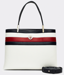 PETIT SAC A MAIN TOMMY HILFIGER TH CORE MED SATCHEL CORP AW0AW08322 0GY www.solene-maroquinerie.fr