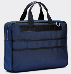 SACOCHE DE TRAVAIL TOMMY HILFIGER ELEVATED SKY CAPTAIN AM0AM05816 CJM www.solene-maroquinerie.fr