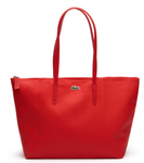SAC CABAS ZIPPÉ L.12.12 CONCEPT GRAND HIGH RISK RED NF1888PO883 www.solene-maroquinerie.fr