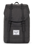 SAC A DOS HERSCHEL RETREAT BLACK CROSSHATCH  NOIR CHINÉ 10066 02093 www.solene-maroquinerie.fr