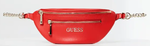 SAC CEINTURE GUESS CALEY POCHE FRONTALE ROUGE VG767480 www.solene-maroquinerie.fr
