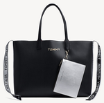 Fourre-tout Iconic Tommy Hilfiger AW0AW06446 002 www.solene-maroquinerie.fr
